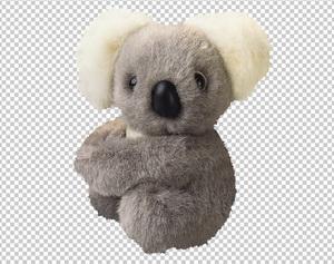 Клипарт коала игрушка, для Фотошоп в PSD и PNG, без фона