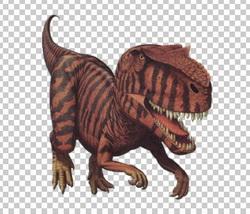 Клипарт динозавр, для Фотошоп в PSD и PNG, без фона