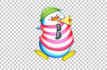 Клипарт пингвин, фото для фотошоп, PSD PNG без фона