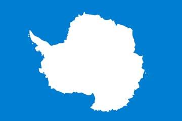 Клипарт флаг Антарктиды, для Фотошоп в PSD и PNG, без фона