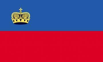 Клипарт флаг Лихтенштейна, для Фотошопа в PSD и PNG, без фона