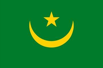Клипарт флаг Мавритании, для Фотошопа в PSD и PNG, без фона
