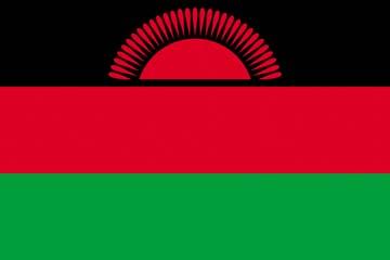 Клипарт флаг Малави, для Фотошоп в PSD и PNG, без фона