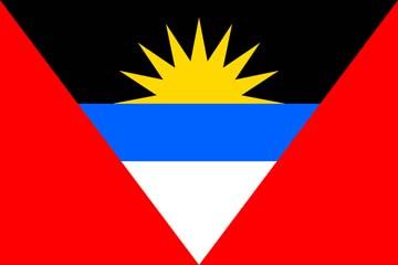 Клипарт флаг Антигуа и Барбуды, для фотошоп, PSD и PNG без фона