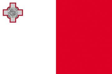 Клипарт флаг Мальты, для Фотошоп в PSD и PNG, без фона