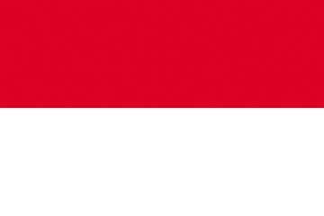 Клипарт флаг Монако, для Фотошопа в PSD и PNG, без фона