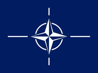 Клипарт флаг НАТО, для Фотошопа в PSD и PNG, без фона