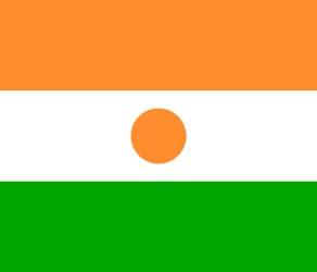 Клипарт флаг Нигера, для Фотошопа в PSD и PNG, без фона