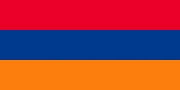 Клипарт флаг Армении, для Фотошоп в PSD и PNG, без фона