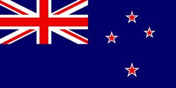 Клипарт флаг Новой Зеландии, для Фотошоп в PSD и PNG, без фона