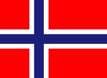 Клипарт флаг Норвегии, для Фотошоп в PSD и PNG, без фона