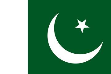 Клипарт флаг Пакистана, для Фотошоп в PSD и PNG, без фона