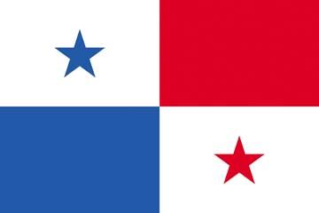 Клипарт флаг Панамы, для Фотошоп в PSD и PNG, без фона