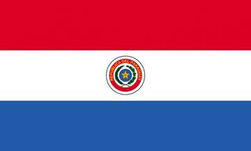 Клипарт флаг Парагвая, для Фотошоп в PSD и PNG, без фона