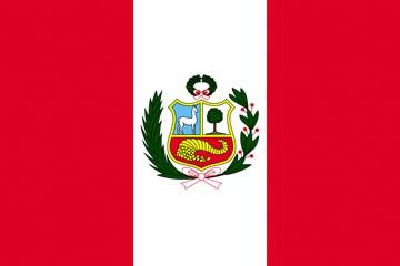 Клипарт флаг Перу, для Фотошоп в PSD и PNG, без фона