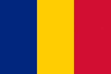 Клипарт флаг Румынии, для Фотошоп в PSD и PNG, без фона