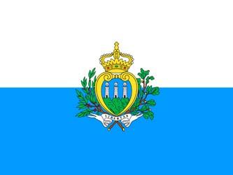 Клипарт флаг Сан-Марино, для Фотошоп в PSD и PNG, без фона