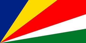 Клипарт флаг Сейшельских Островов, для фотошоп, PSD и PNG без фона