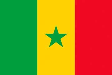 Клипарт флаг Сенегала, для Фотошоп в PSD и PNG, без фона