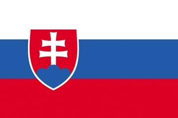Клипарт флаг Словакии, для Фотошоп в PSD и PNG, без фона