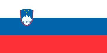 Клипарт флаг Словении, для Фотошоп в PSD и PNG, без фона
