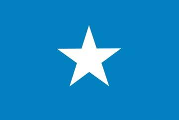 Клипарт флаг Сомали, для Фотошоп в PSD и PNG, без фона
