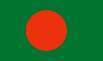 Клипарт флаг Бангладеша, для Фотошоп в PSD и PNG, без фона