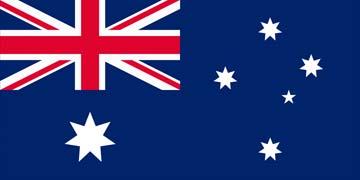 Клипарт флаг Австралии, для Фотошоп в PSD и PNG, без фона