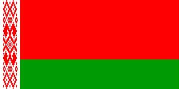Клипарт флаг Белорусcии, для Фотошоп в PSD и PNG, без фона