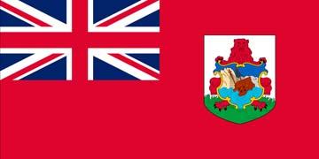 Клипарт флаг Бермудских островов, для Фотошоп в PSD и PNG, без фона