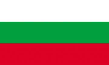 Клипарт флаг Болгарии, для Фотошоп в PSD и PNG, без фона