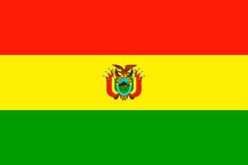 Клипарт флаг Боливии, для Фотошопа в PSD и PNG, без фона