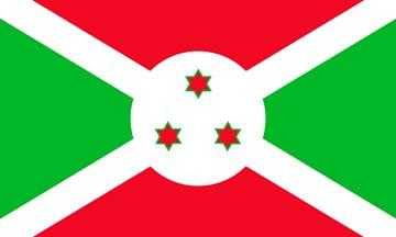 Клипарт флаг Бурунди, для Фотошопа в PSD и PNG, без фона