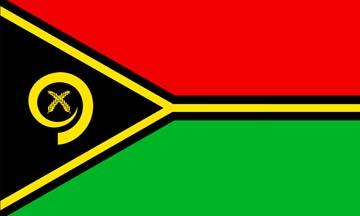 Клипарт флаг Вануату, для Фотошоп в PSD и PNG, без фона