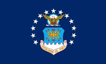 Клипарт флаг ВВС США, для Фотошопа в PSD и PNG, без фона