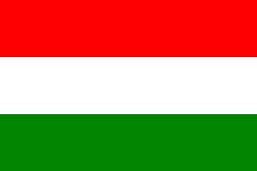 Клипарт флаг Венгрии, для Фотошоп в PSD и PNG, без фона