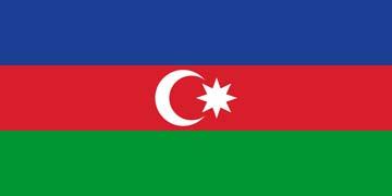 Клипарт флаг Азербайджана, для Фотошоп в PSD и PNG, без фона