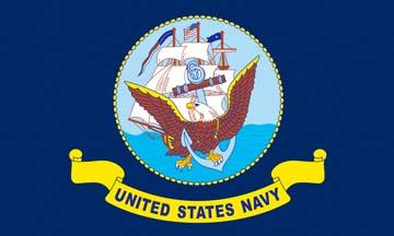 Клипарт флаг военно-морского флота США, для Фотошоп в PSD и PNG, без фона