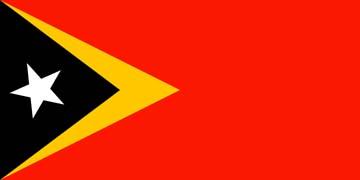 Клипарт флаг восточного Тимора, для Фотошопа в PSD и PNG, без фона