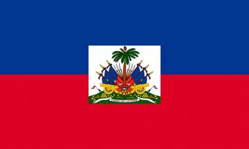 Клипарт флаг Гаити, для Фотошопа в PSD и PNG, без фона