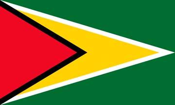 Клипарт флаг Гайаны, для Фотошоп в PSD и PNG, без фона