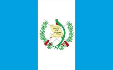 Клипарт флаг Гватемалы, для Фотошоп в PSD и PNG, без фона