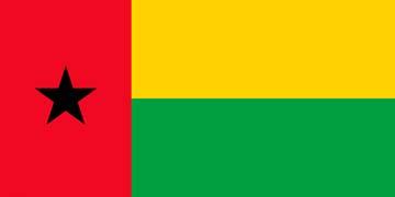 Клипарт флаг Гвинеи-Бисау, для фотошоп, PSD и PNG без фона
