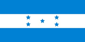 Клипарт флаг Гондураса, для Фотошопа в PSD и PNG, без фона