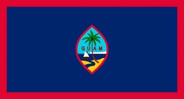 Клипарт флаг Гуама, для фотошоп, PSD и PNG без фона