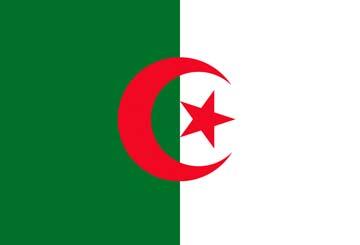 Клипарт флаг Алжира, для Фотошоп в PSD и PNG, без фона