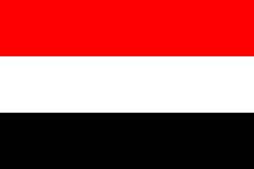Клипарт флаг Йемена, для Фотошоп в PSD и PNG, без фона