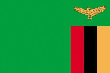 Клипарт флаг Замбии, для Фотошопа в PSD и PNG, без фона