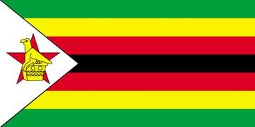Клипарт флаг Зимбабве, для фотошоп, PSD и PNG без фона