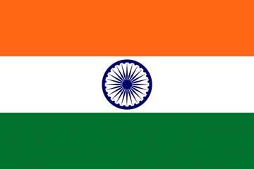 Клипарт флаг Индии, для Фотошопа в PSD и PNG, без фона